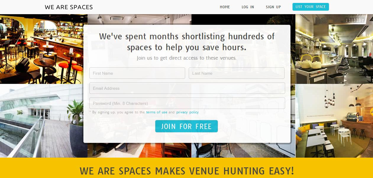 We Are Spaces Relaunched!