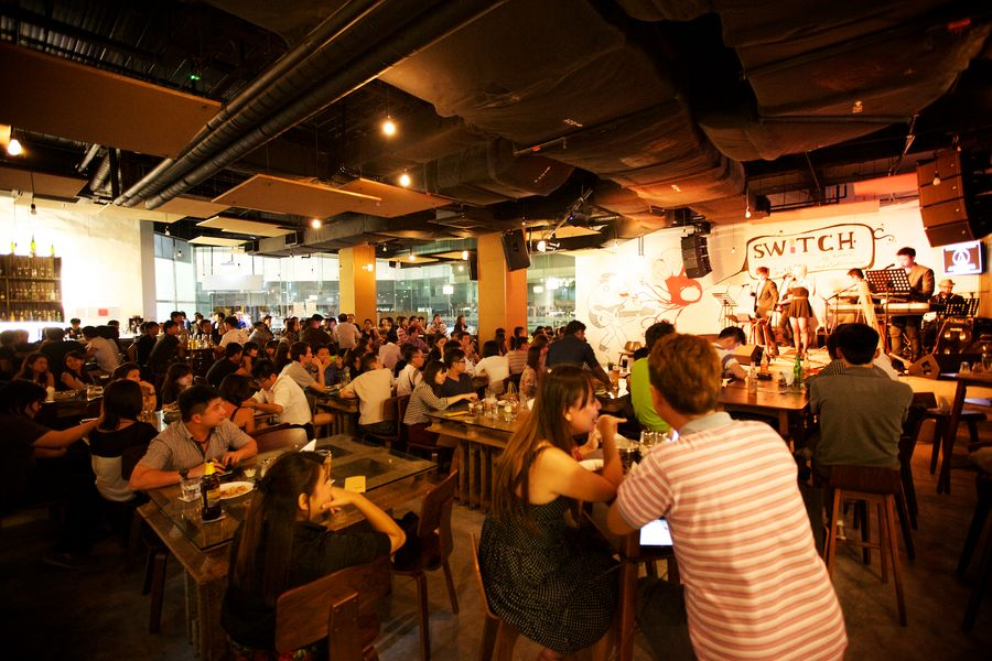 Switch Timbre dinner and dance venues Singapore 2