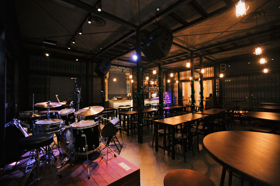 Barber Shop Timbre dinner and dance venues Singapore 1