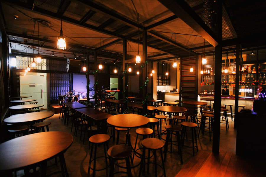 Barber Shop Timbre dinner and dance venues Singapore 2