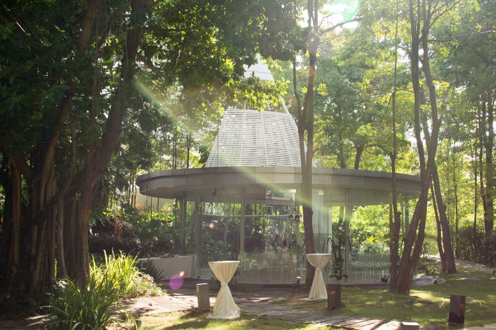 Glass Pavilion Amara Sanctuary Resort Sentosa outdoor venues in Singapore 1