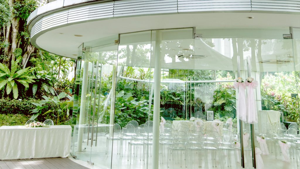 Glass Pavilion Amara Sanctuary Resort Sentosa outdoor venues in Singapore 2
