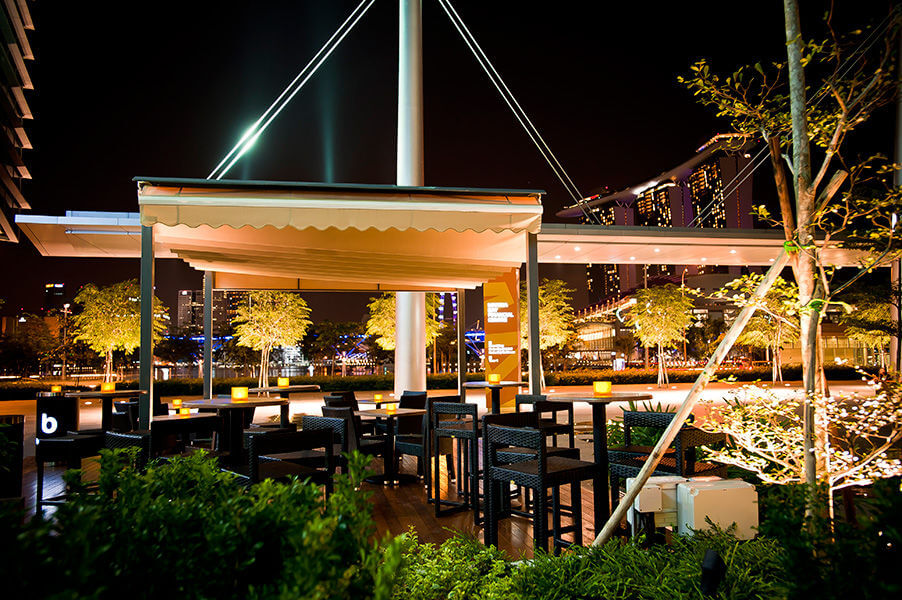 Boulevard Bayfront outdoor venues in Singapore 2