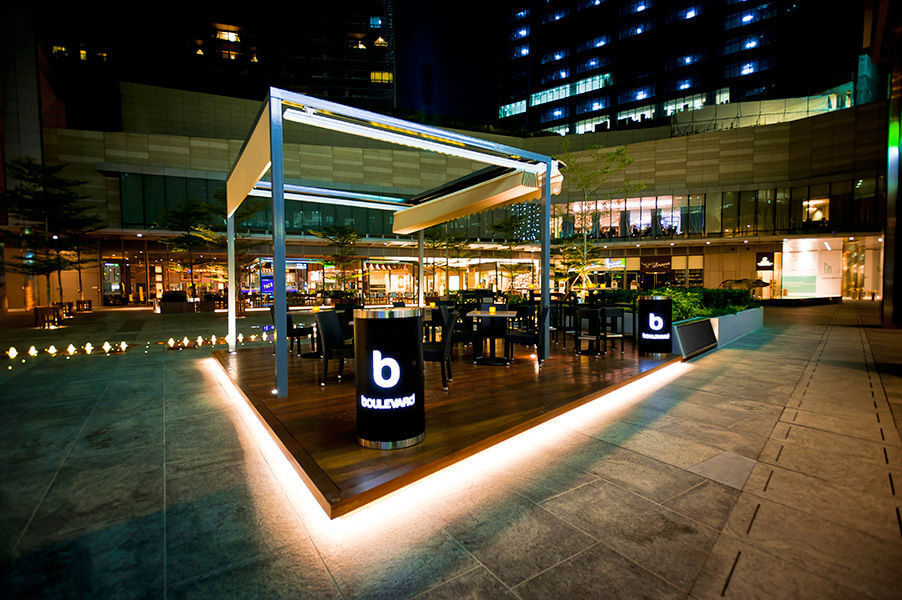 Boulevard Bayfront outdoor venues in Singapore 1