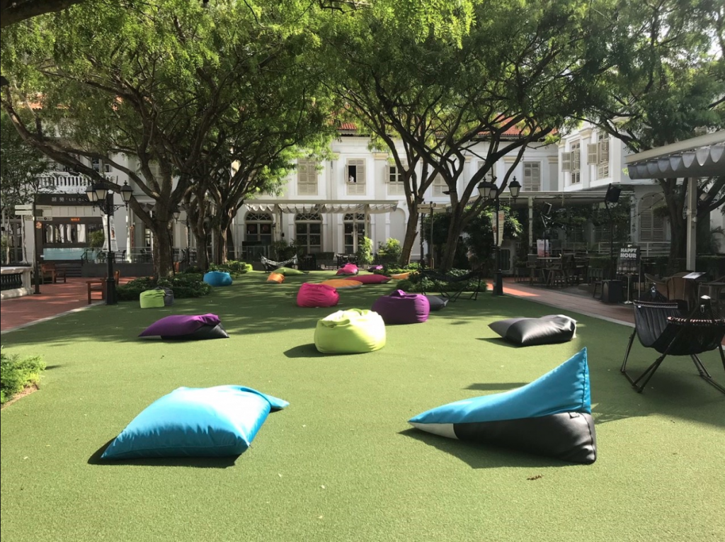 The Lawn Chijmes outdoor venues in Singapore 1