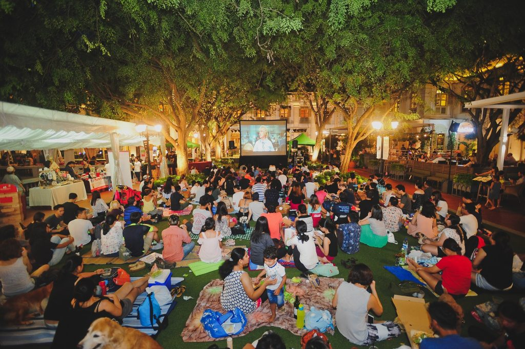 The Lawn Chijmes outdoor venues in Singapore 2