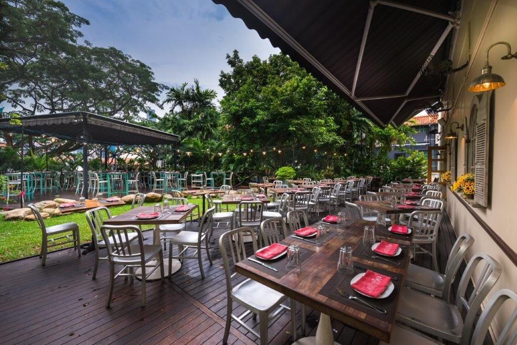 Latteria Mozzarella Bar outdoor venues in Singapore 1