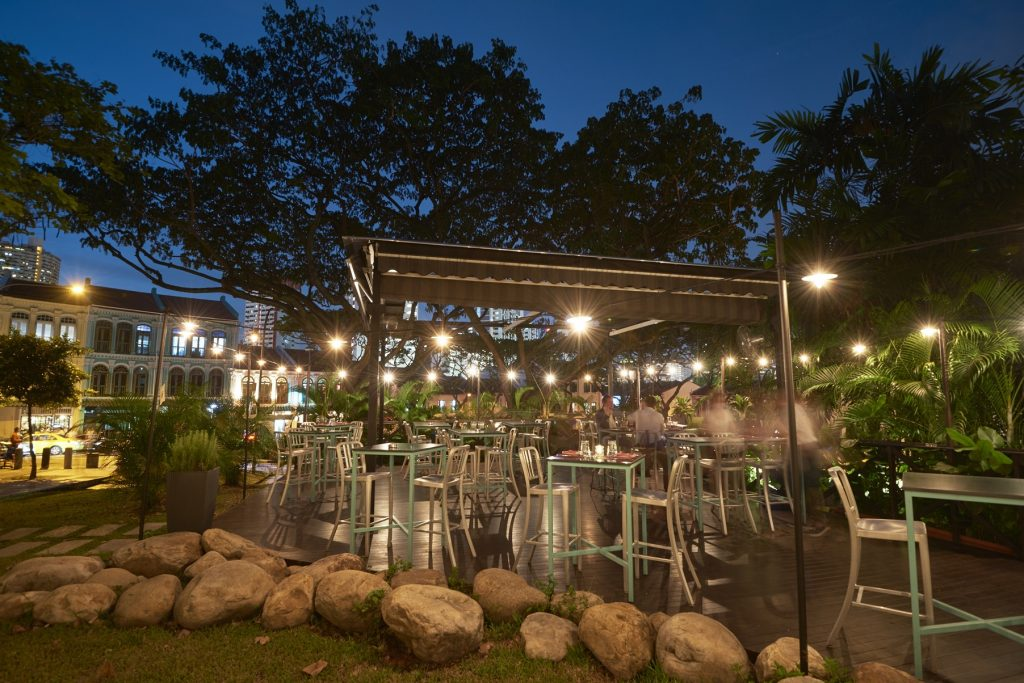 Latteria Mozzarella Bar outdoor venues in Singapore 2