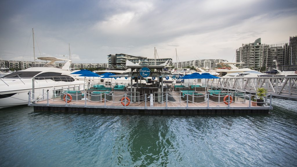 Boaters Bar One Marina outdoor venues in Singapore 1
