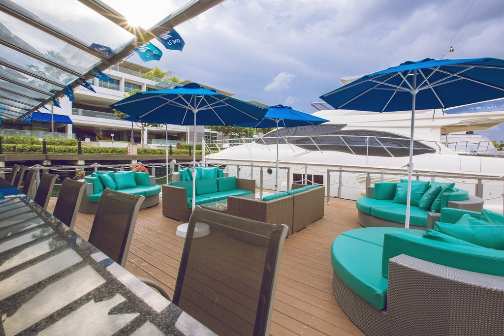 Boaters Bar One Marina outdoor venues in Singapore 2