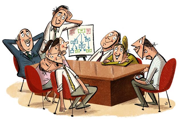 boring meetings millennials