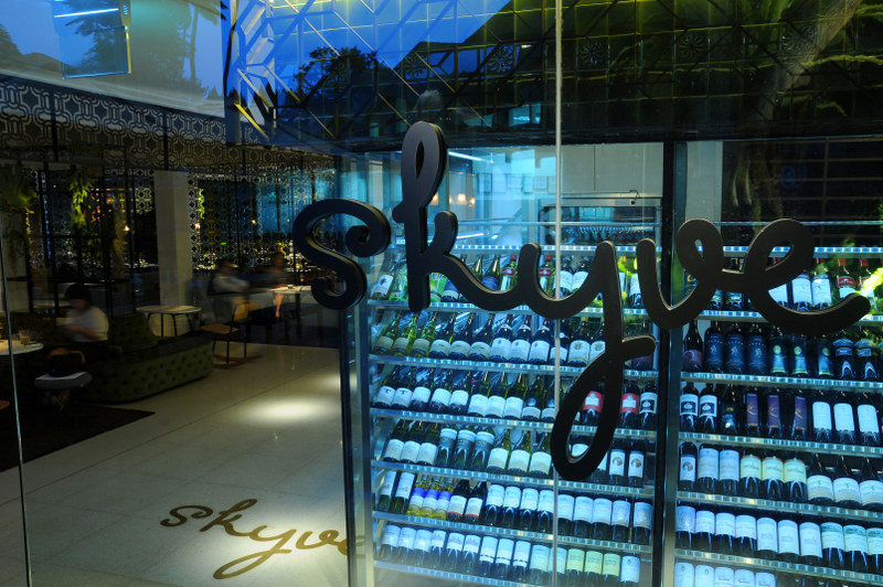 Skyve Wine and Bistro event venue in Singapore open after midnight
