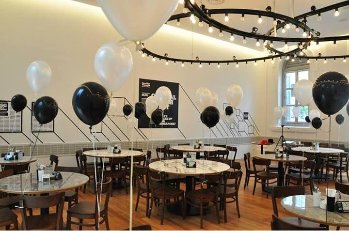 Food for thought birthday party venue in Singapore 1