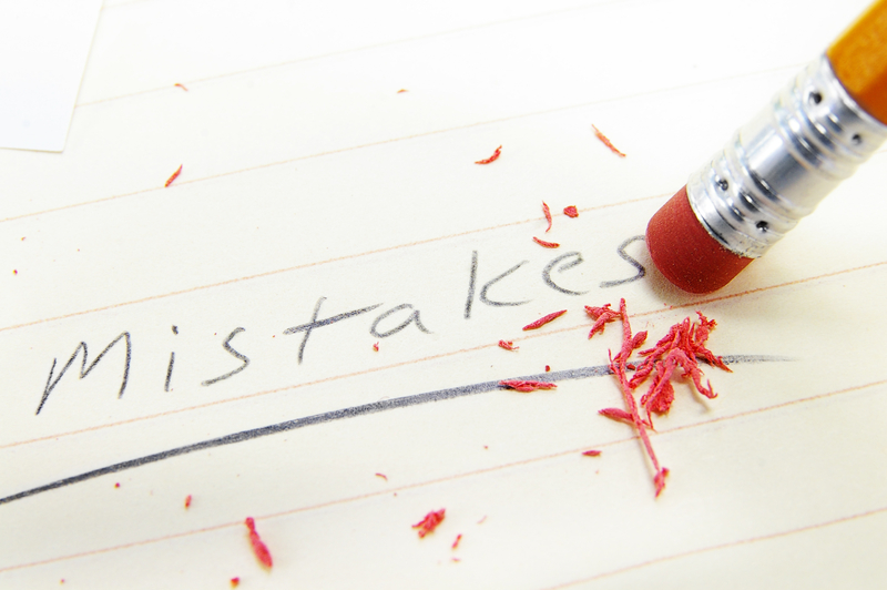 event planning mistakes