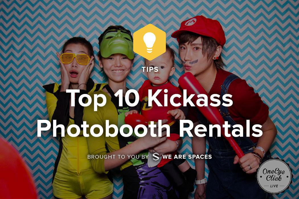 Kick-Ass photo booths