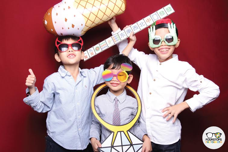 Photo Booth Singapore - Fourstops