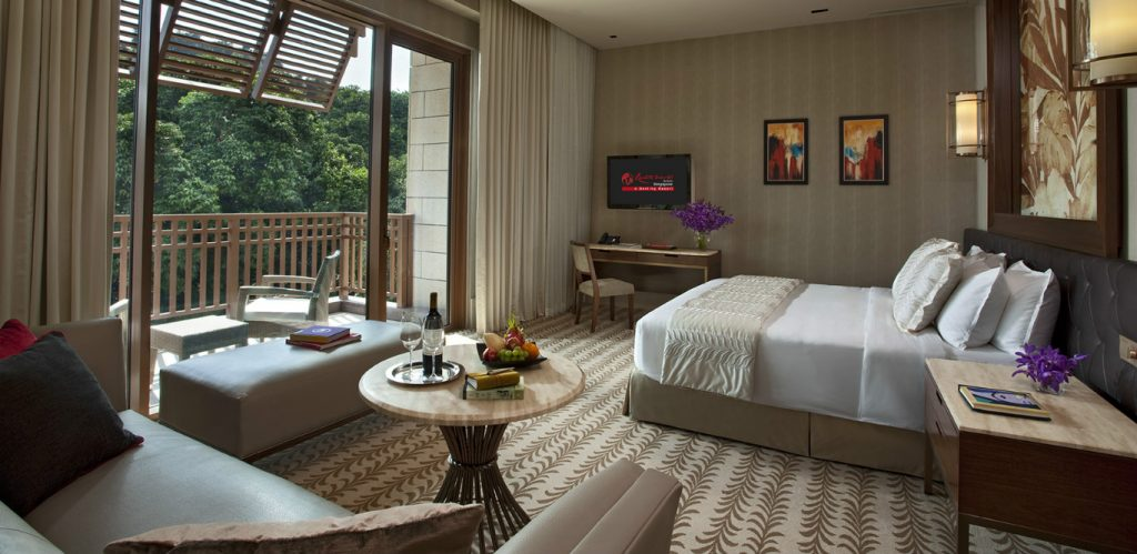 Equarius Hotel RWS Deluxe Room party spaces Singapore