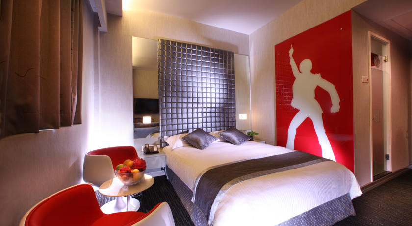 Hotel Re! themed suites party spaces Singapore