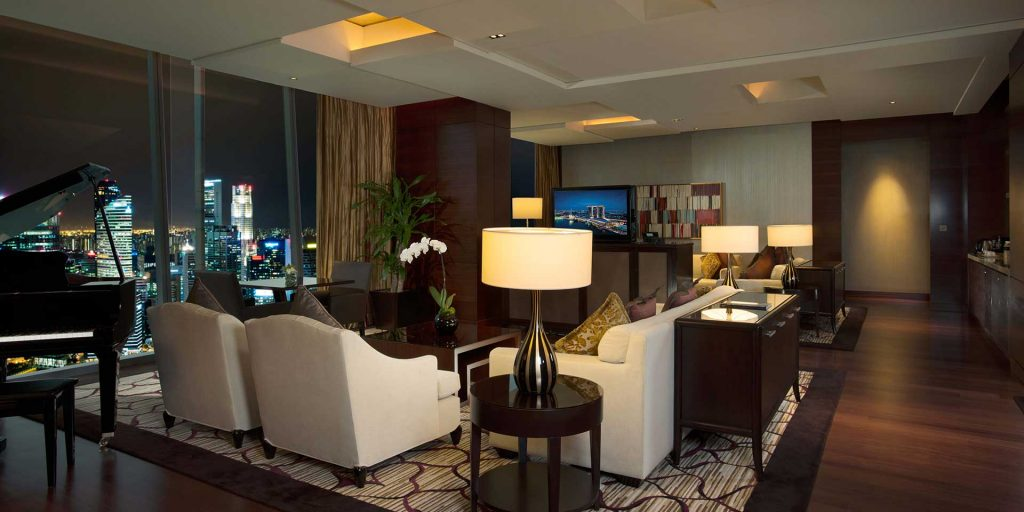 Marina Bay Sands Straits Suite party spaces Singapore