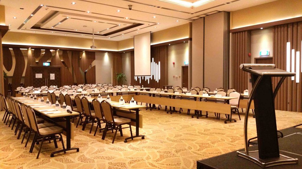 Vine Ballroom Metropolitan YMCA corporate event venue for rent Singapore
