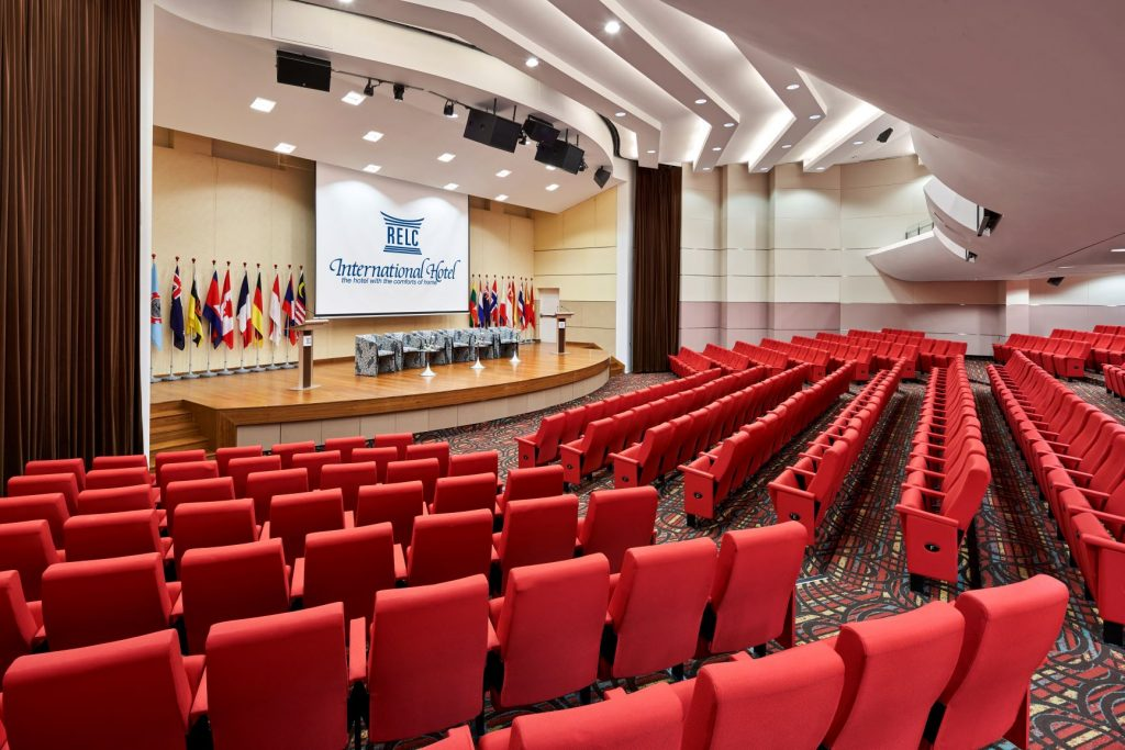 RELC International Hotel Auditorium for rent Singapore