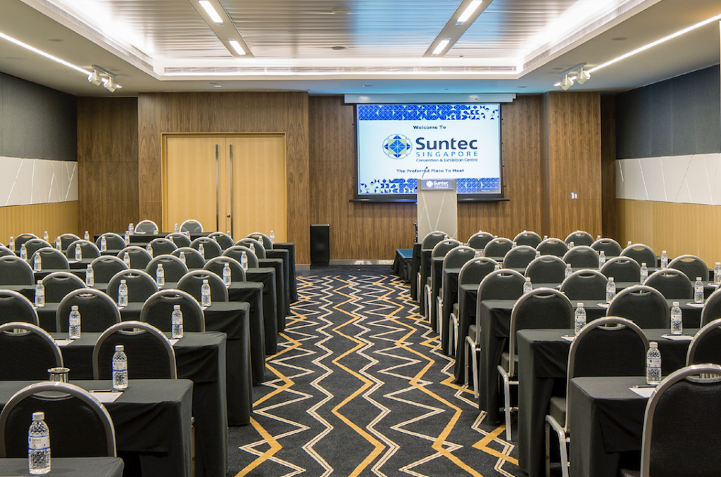 Suntec Singapore corporate event venue for rent Singapore