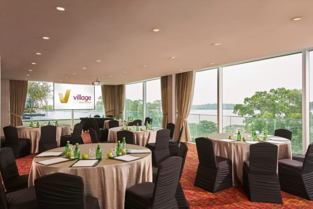 Infinity Room @ Village Hotel Changi event function rooms for rent Singapore
