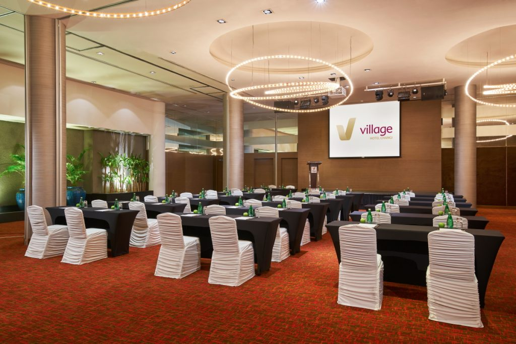 Square Ballroom @ Village Hotel Changi training space for rent Singapore