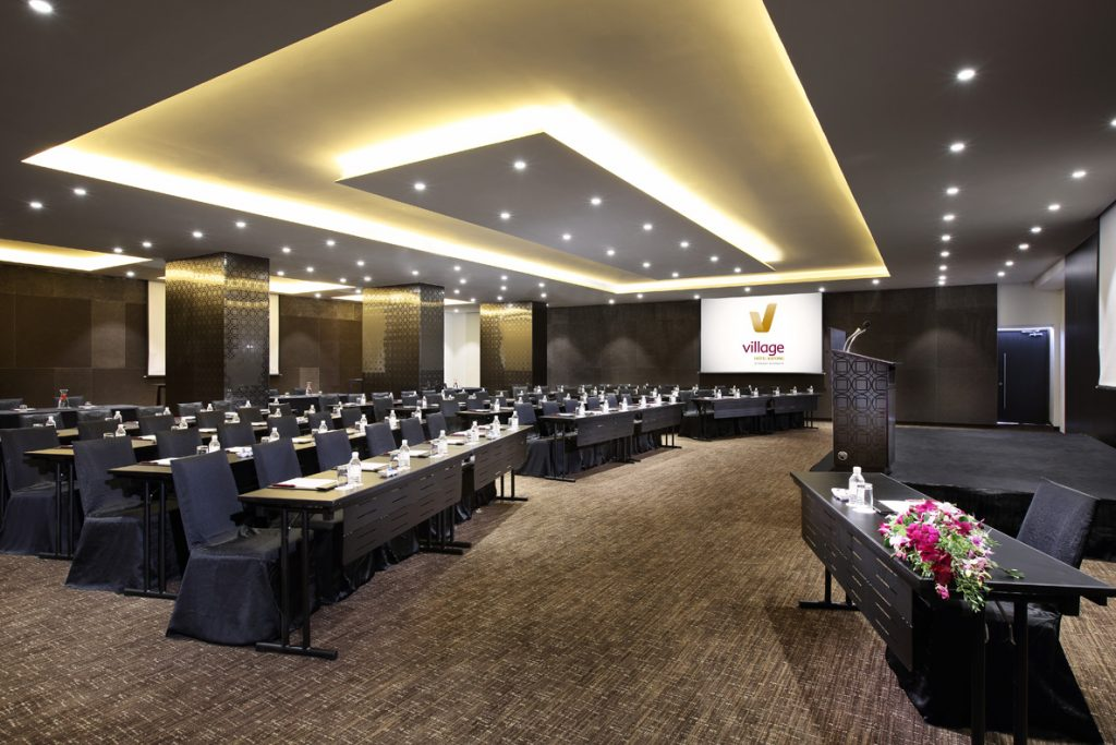 Saffron Room Village Hotel Katong corporate event venue for rent Singapore