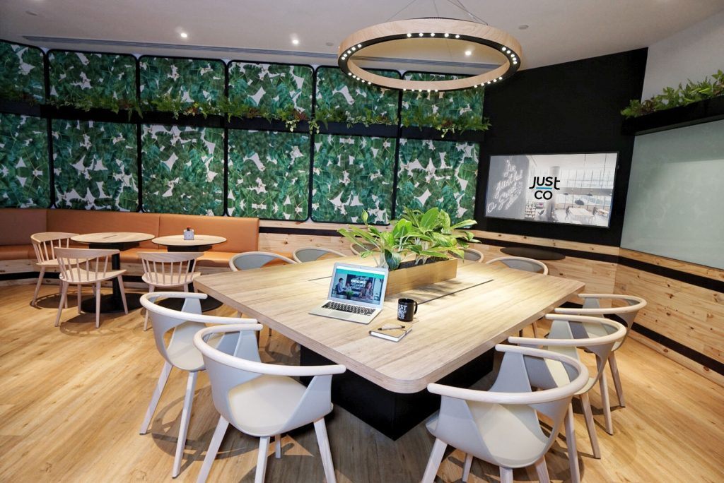 JustCo @ Marina Square Just Conquer Boardroom for rent Singapore
